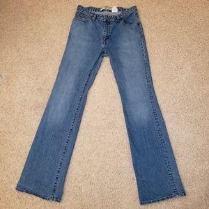 GAP Women's Stretch Flare Jeans Size 10 Long EUC